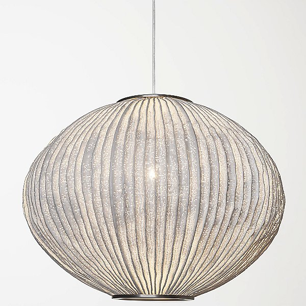 Coral Sea Urchin Pendant Light