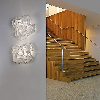 White finish / illuminated / in use