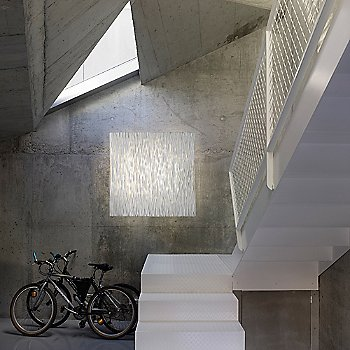 Square size / in use over staircase