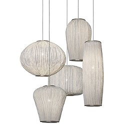 Coral Five Light Pendant Light