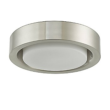 Brushed Nickel finish / Small size, unlit
