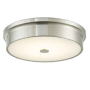 Brushed Nickel finish / Small size, lit