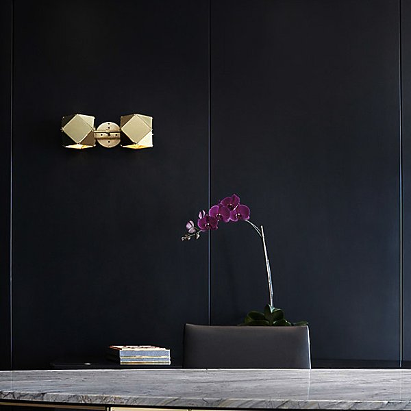 Welles Double LED Wall Sconce