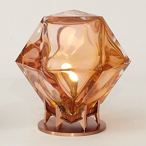 Welles Double-Blown Glass LED Table Lamp