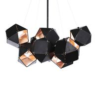 Black Geometric Chandelier