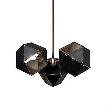 Black Exterior / Satin Nickel Interior