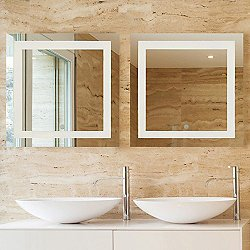 Spa LED Square Vanity Mirror