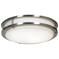 Solero Dimmable LED Flush Mount Ceiling Light