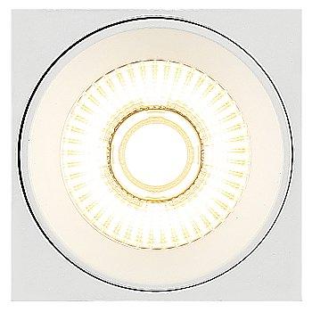White finish / illuminated / Bottom view
