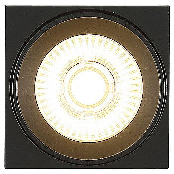 Black finish / illuminated / Bottom view