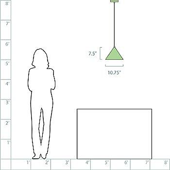10-in. Diameter option