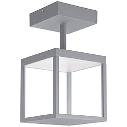 Reveal LED Outdoor Square Semi-Flush Mount Ceiling Light