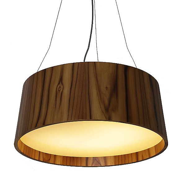 Conical Tapered LED Drum Pendant Light