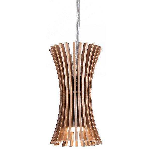 Stecche Di Legno Mini Pendant Light