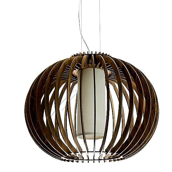 Stecche Di Legno Globe Pendant Light