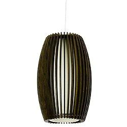 Stecche Di Legno Oval Mini Pendant Light