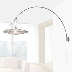 Coco Steel Arc Wall Light