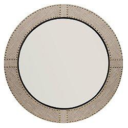 Agatha Round Mirror