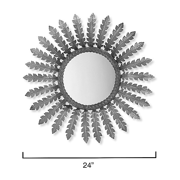 Sunny Round Mirror