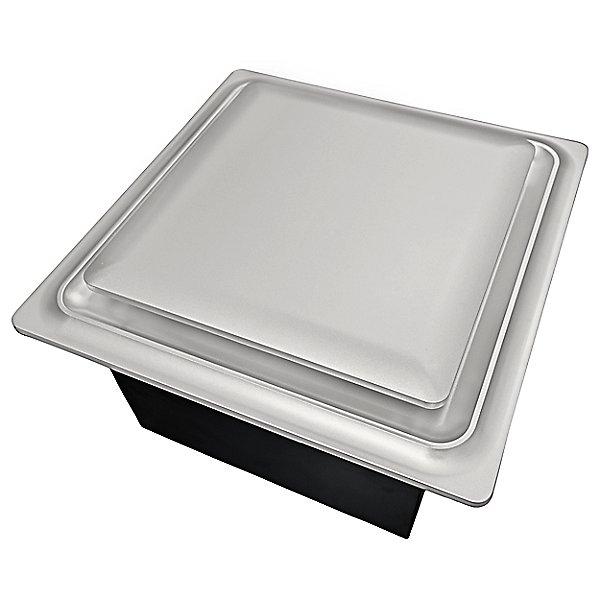 Slim Fit Square Profile Quiet Bathroom Exhaust Fan