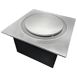 Slim Fit Round Profile Quiet Bathroom Exhaust Fan