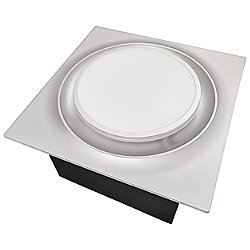 Round Adjustable Speed Bathroom Exhaust Fan with Humidity Sensor