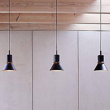 Matte Black finish, illuminated / in use