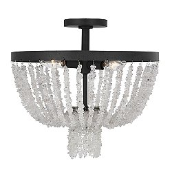 Leon Semi-Flush Mount Ceiling Light