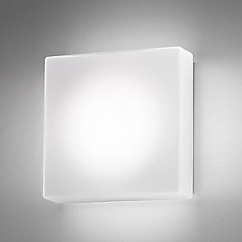 Shown in White color, wall mount