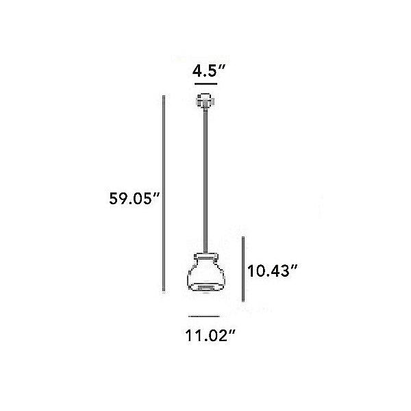 Biscuit 5361 Pendant Light