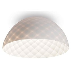 Capitone LED Dome Flush Mount Ceiling Light