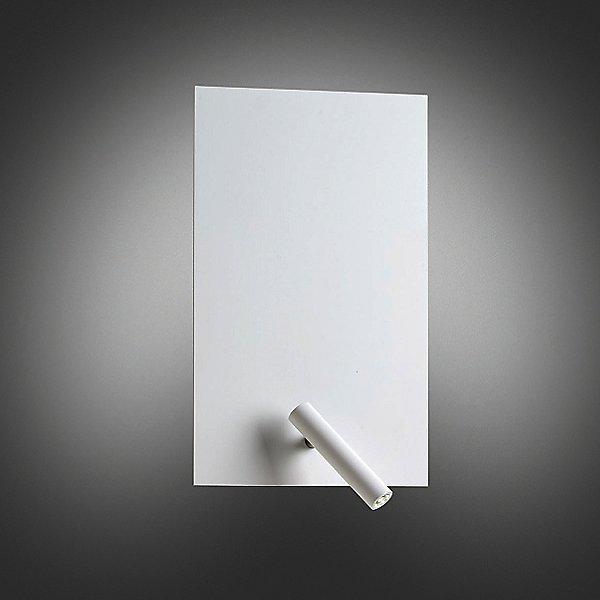 Flat Metal Wall Sconce
