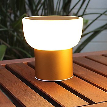 Shown in Gold finish, Tall size