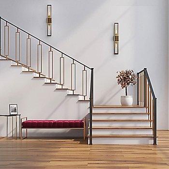 Vintage Brass finish / Medium size, in use