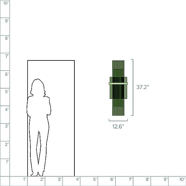 Carlisle Tall Wall Sconce