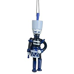 Blue Christmas Soldier Ornament