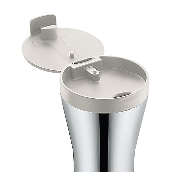 Stainless Steel finish / White color