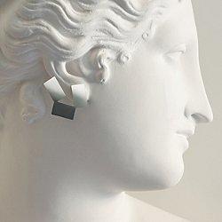 Alisei Earrings by Alessi (Mirror Polished)-OPEN BOX RETURN