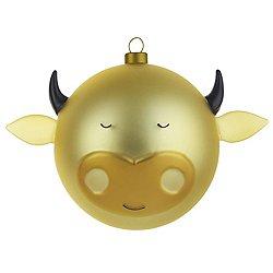 AMJ13 4 Bue - Ox, Christmas Ornament
