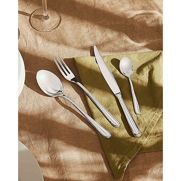 LCD01S24R - Caccia 24-piece Cutlery Set (4-prong Fork)
