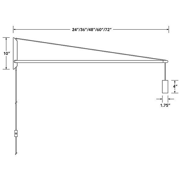 Crane Wall Light