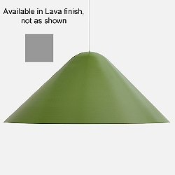 Dune Pendant by Andrew Neyer (Lava/Large) - OPEN BOX RETURN