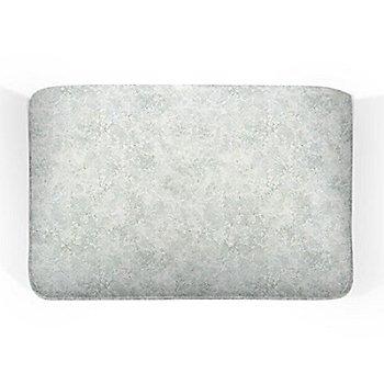 7.75 Inch size / Zinc White Marble finish