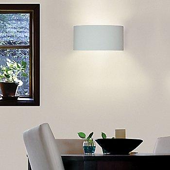 Satin White finish, illuminated