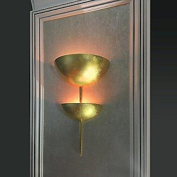 Sagebrush finish, illuminated