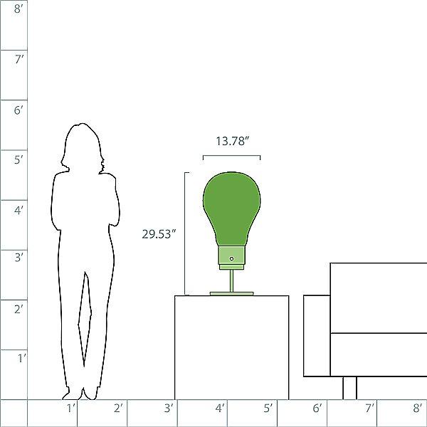 Viva Edison T1 LED Table Lamp