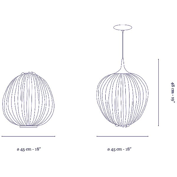 Dippa LED Pendant Light