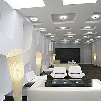 Horn Floor Lamp / in use