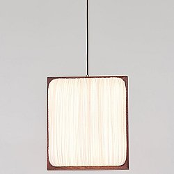 Simon Says Yes with Mahogany LED Pendant Light
