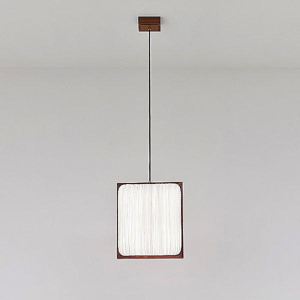 Simon Says Yes with Mahogany LED Pendant Light